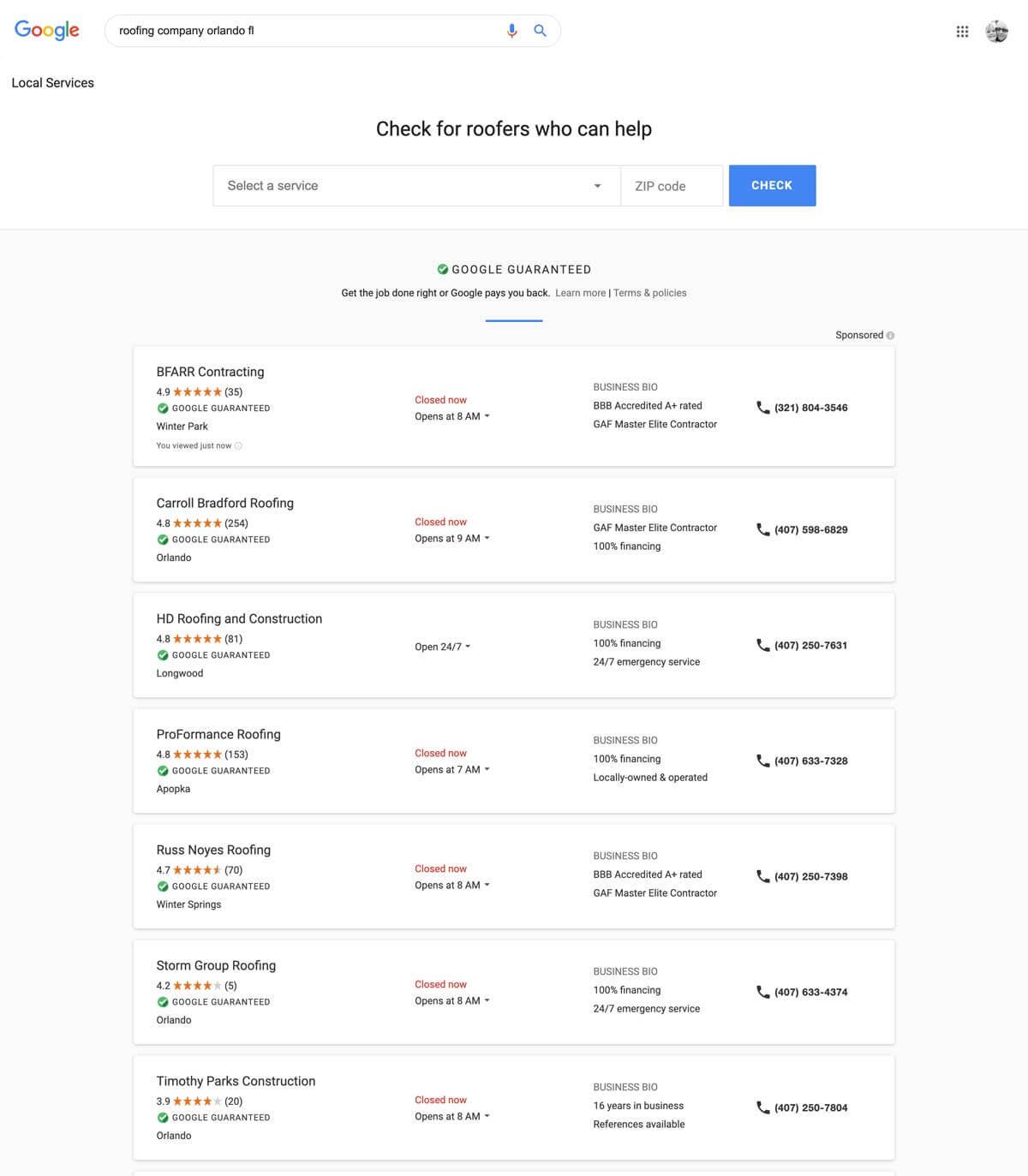Google-local-Services